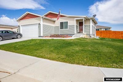 Rock Springs Single Family Home For Sale: 1401 Sandpiper