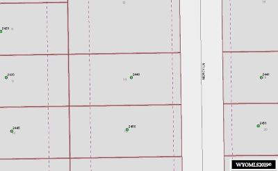 Casper Residential Lots & Land For Sale: 2440 Mercy