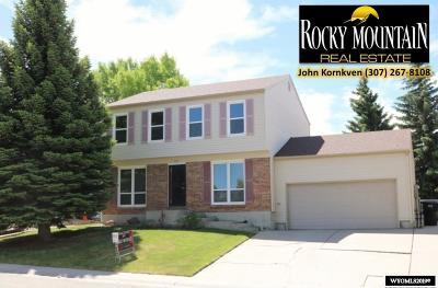 Casper Single Family Home For Sale: 731 W 45th