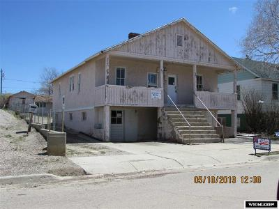 Rock Springs Multi Family Home For Sale: 319 321 323 I