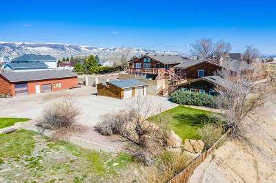 Rock Springs Single Family Home Pending-Continue To Show: 405 Winterhawk