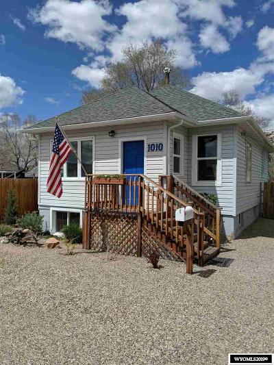 Rock Springs Single Family Home For Sale: 1010 McCarty