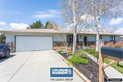 Casper, Evansville, Bar Nunn, Glenrock, Douglas, Midwest, Alcova Single Family Home For Sale: 3894 Placid