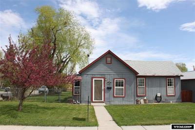 Lander Single Family Home Pending-Continue To Show: 790 Sweetwater