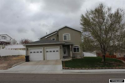 Green River Single Family Home For Sale: 2025 W Teton