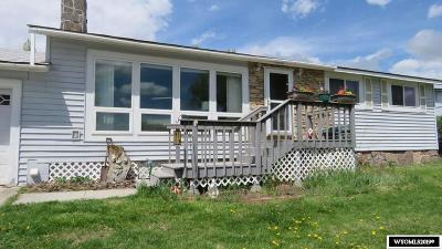 Lander Single Family Home For Sale: 915 S 9th