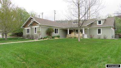 Lander Single Family Home For Sale: 230 River Place