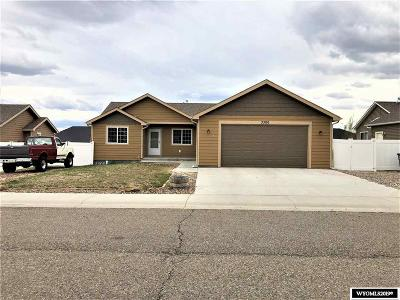Rock Springs Single Family Home New: 3300 Darlington