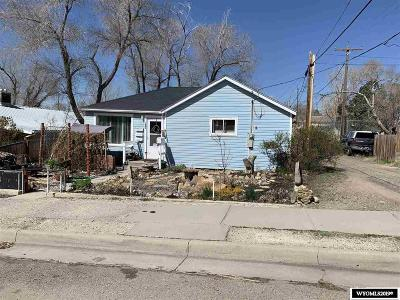 Rock Springs Single Family Home For Sale: 926 Lincoln