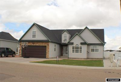 Rock Springs Single Family Home For Sale: 2415 Silver Creek