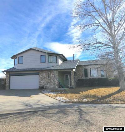 Casper Single Family Home Pending-Continue To Show: 3071 Pratt