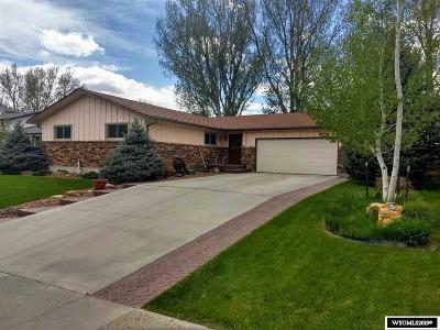 Casper Single Family Home For Sale: 1520 Kelly