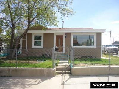 Rock Springs Single Family Home For Sale: 1035 Adams