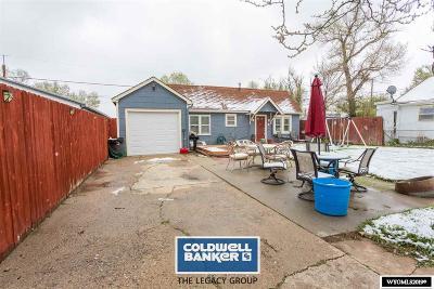 Casper Single Family Home For Sale: 1231 S Cottonwood
