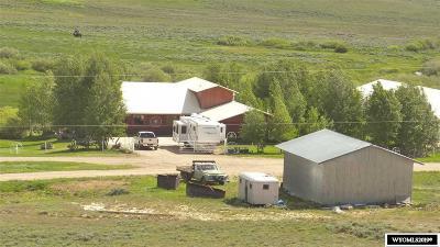 Kemmerer Single Family Home For Sale: 10 Corral Creek