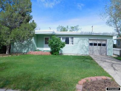 Casper Single Family Home New: 2130 Hyview