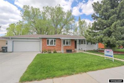 Casper Single Family Home For Sale: 3720 Monte Vista