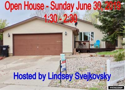Casper Single Family Home For Sale: 6661 Whiterock