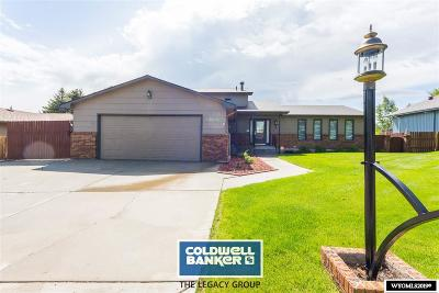 Casper Single Family Home For Sale: 1019 Dundee