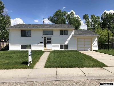 Casper Single Family Home For Sale: 1021 S Forest