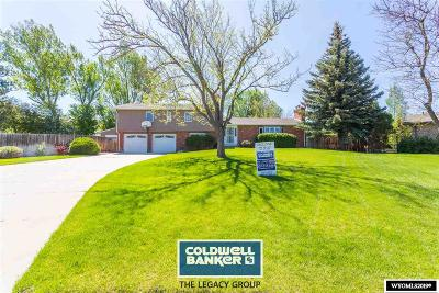 Casper Single Family Home For Sale: 3165 S Poplar
