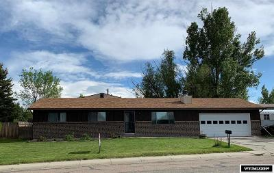 Casper Single Family Home For Sale: 4011 Gannett
