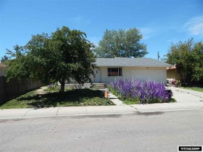 Casper Single Family Home For Sale: 2150 S Jackson