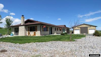Lander Single Family Home For Sale: 1265 Sinks Canyon