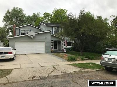 Casper Single Family Home For Sale: 1726 S Walnut