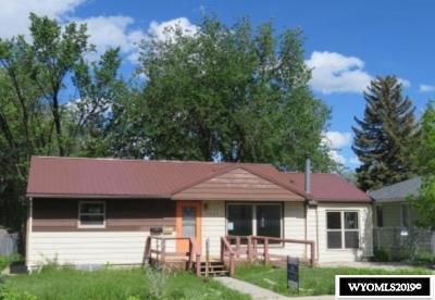 Casper Single Family Home For Sale: 1221 Bon