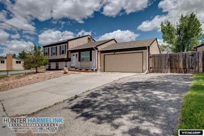 Casper Single Family Home For Sale: 2101 Lennox