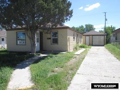 Casper Single Family Home For Sale: 235 N Lowell