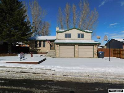 Green River Single Family Home For Sale: 705 Bridger