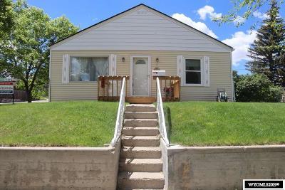 Casper Single Family Home For Sale: 644 Washington