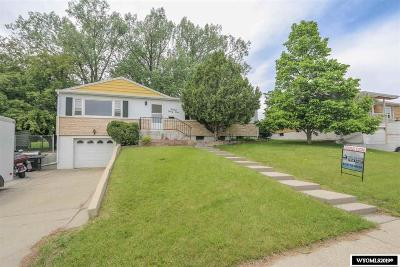 Casper Single Family Home For Sale: 1544 S Kenwood