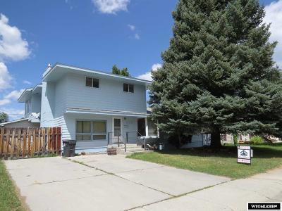 Lander Single Family Home For Sale: 635 West Lane