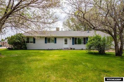 Rock Springs Single Family Home For Sale: 356 Granite
