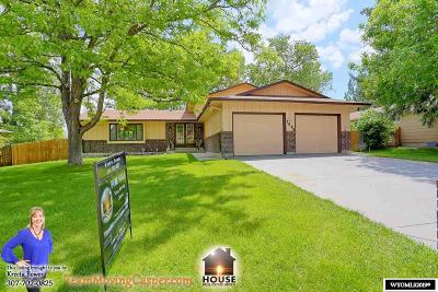 Casper Single Family Home For Sale: 1583 Kelly