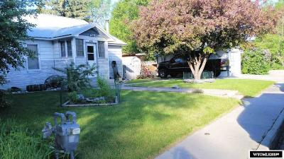 Lander Single Family Home Pending-Continue To Show: 425 Popo Agie