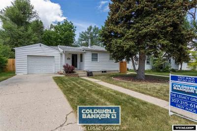 Casper Single Family Home For Sale: 1648 Westridge