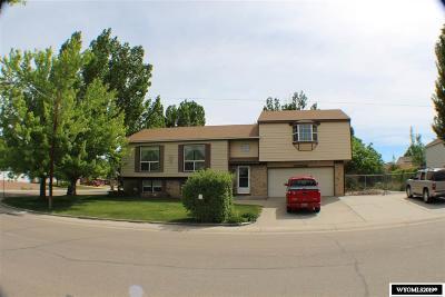 Rock Springs Single Family Home For Sale: 4005 Monroe