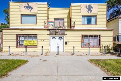 Rock Springs Commercial For Sale: 608 Dewar