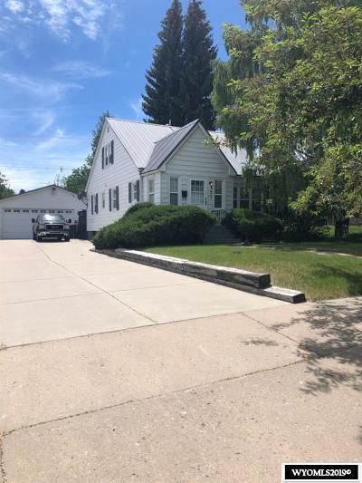 Evanston WY Single Family Home New: $239,000
