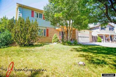 Casper Single Family Home For Sale: 3851 Cynthia