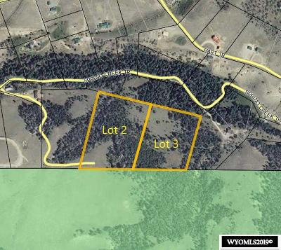 Dubois,  Kinnear,  Crowheart, Pavillion Residential Lots & Land For Sale: Little Warm Springs Lots 2 & 3
