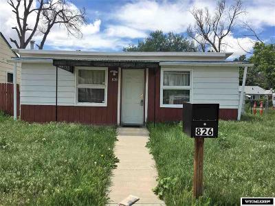 Casper Single Family Home For Sale: 826 N McKinley