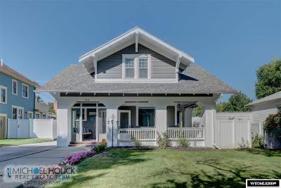 Glenrock, Alcova, Casper, Douglas, Evansville, Bar Nunn, Midwest Single Family Home Pending-Continue To Show: 736 S Beech