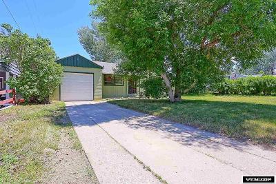 Casper Single Family Home For Sale: 1647 Westridge Terrace