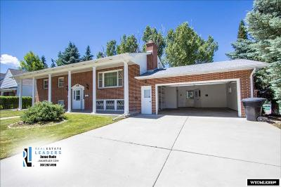 Casper Single Family Home For Sale: 1200 Manor