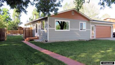 Lander Single Family Home For Sale: 819 Vance
